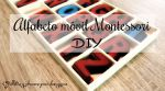 Alfabeto movil Montessori DIY