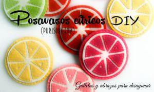 Posavasos citricos