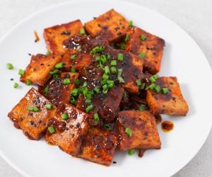 Tofu-picante-estilo-coreano