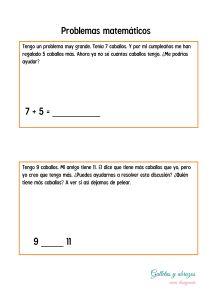 Problemas matemáticos