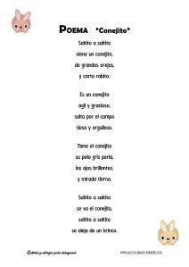 Poema Conejito GyA