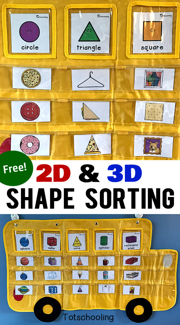 2D-3D-Shape-Sorting