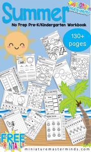 Summer-No-Prep-Workbook-Kindergarten-PreK-595x992